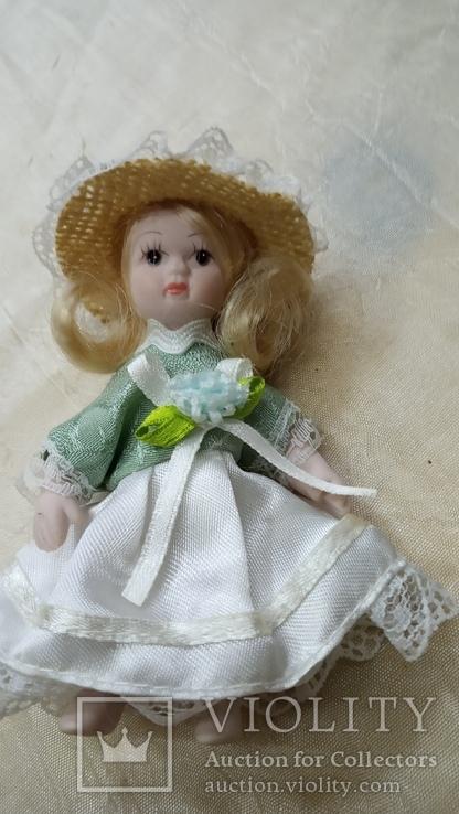 Фарфоровые мини куколки 8шт, фото №11