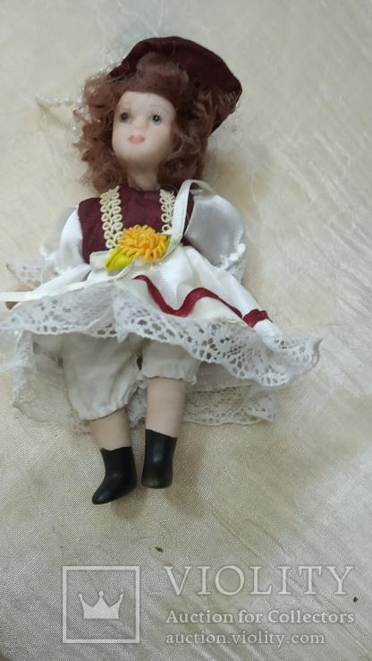 Фарфоровые мини куколки 8шт, фото №13