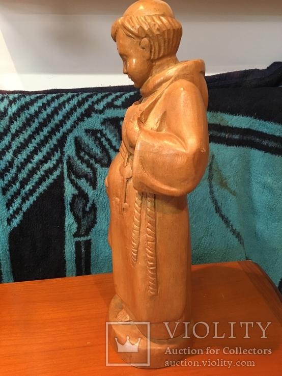 Скульптура монаха, дерево, Германия, фото №5