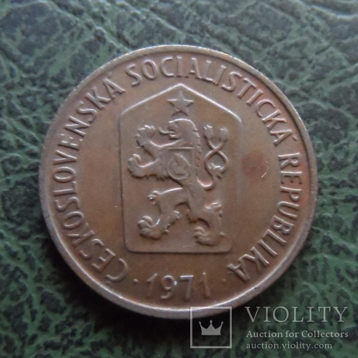 50 геллеров  1971  Чехословакия   ($1.1.7) ~, фото №3