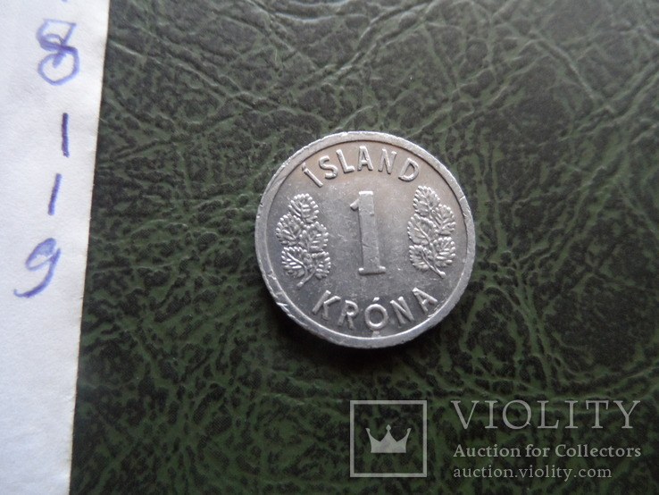 1 крона 1978   Исландия   ($1.1.9) ~, фото №4
