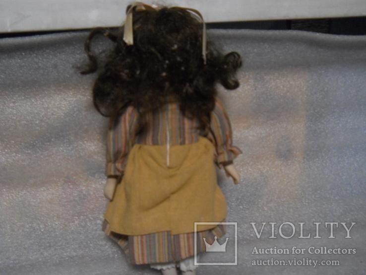 Кукла фарфор высотой 30 см, фото №3