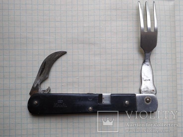 Нож,вилка,ложка,штопор.Москва., фото №4