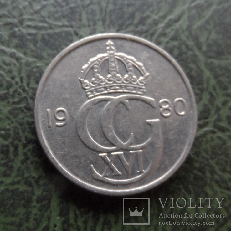 50 эре 1980  Швеция   ($1.5.17)~, фото №2