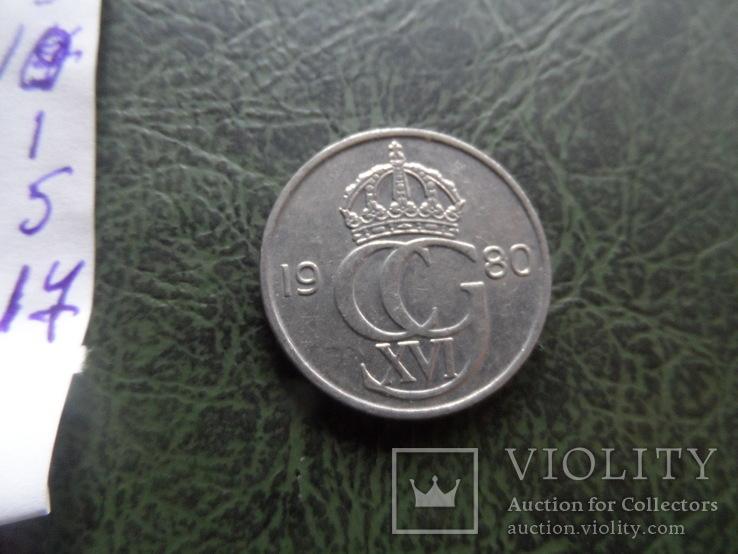 50 эре 1980  Швеция   ($1.5.17)~, фото №4
