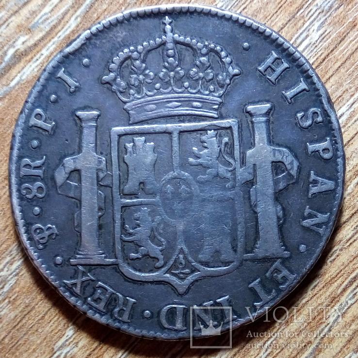 Боливия (Исп.) - 8 реалов 1808 г.