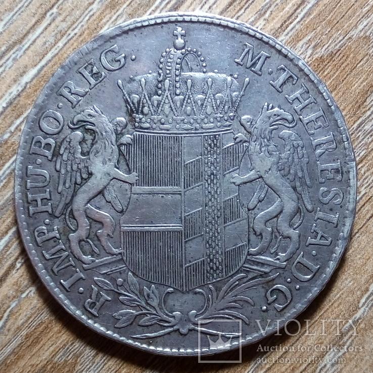 Бургау талер 1766 г., фото №2
