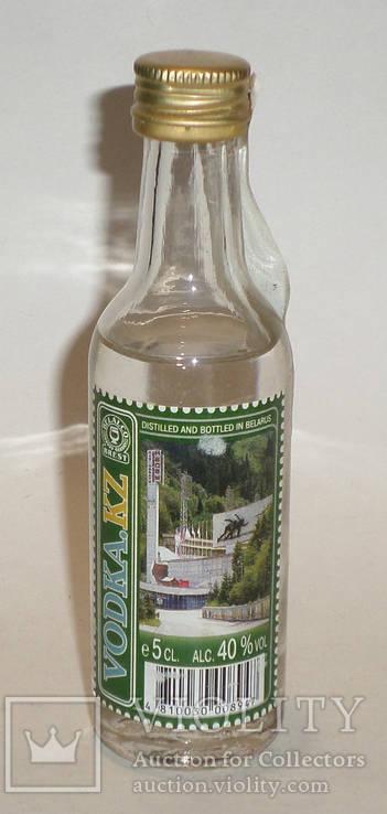 Колекционная бутылочка 0.05л водка VODKA.KZ вариант2