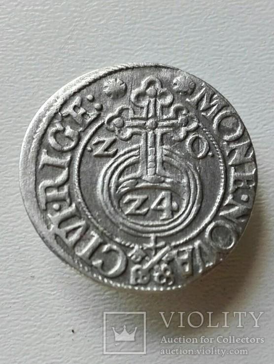 Рижский полторак 1620 г (ключи)