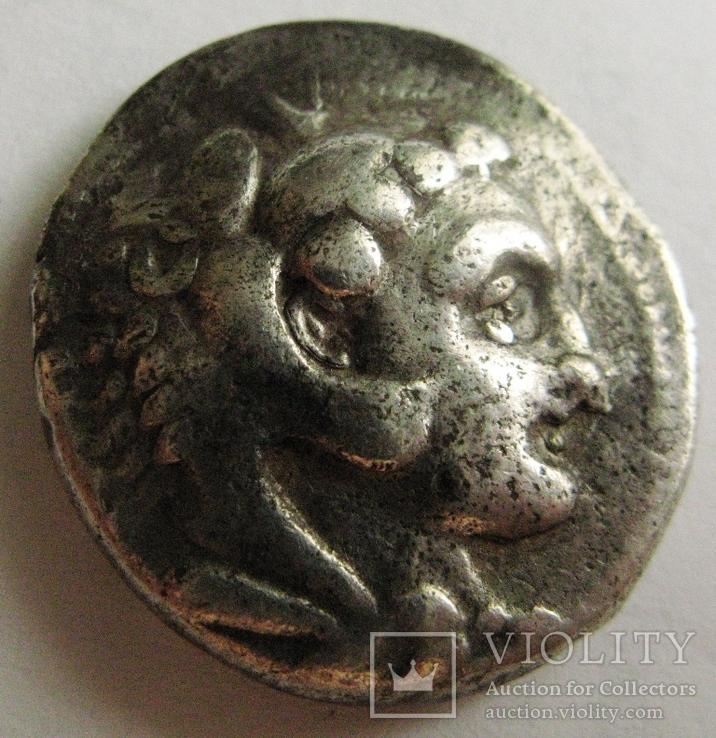 Древняя Греция, г. Аке, тетрадрахма, (336-323 гг. до н.э.) Александр Македонский, фото №3