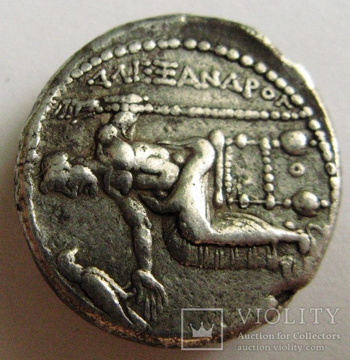 Древняя Греция, г. Аке, тетрадрахма, (336-323 гг. до н.э.) Александр Македонский, фото №5