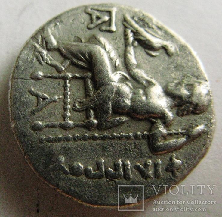 Древняя Греция, драхма, (323-317 гг. до н.э.) Philipp III Arrhidaios, фото №5