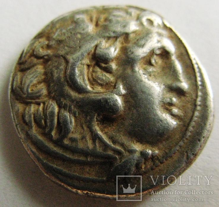 Древняя Греция, г. Kolophon драхма, (336-323 гг. до н.э.) Александр Македонский