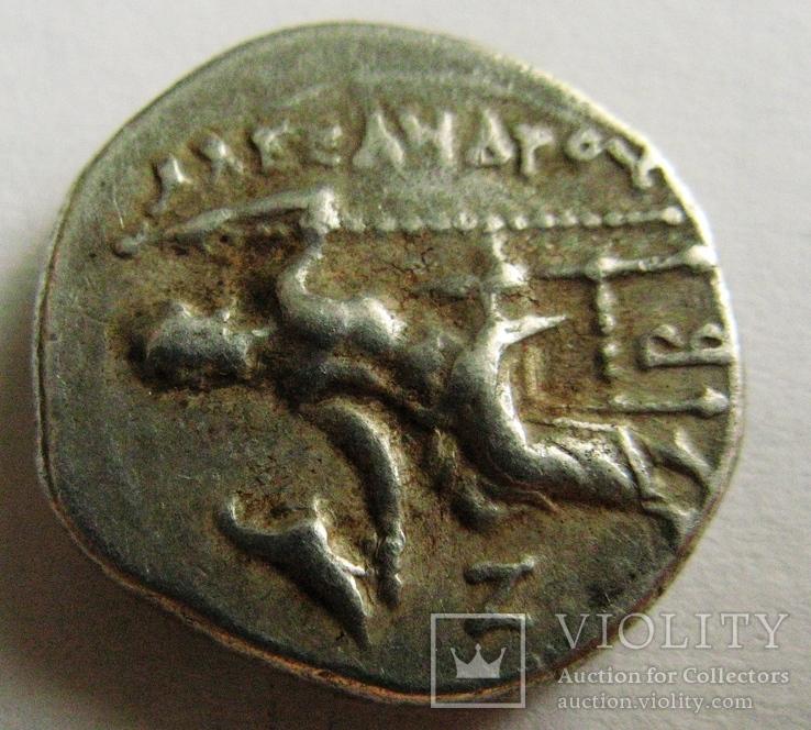 Древняя Греция, г. Kolophon драхма, (336-323 гг. до н.э.) Александр Македонский, фото №5