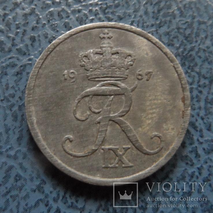 2 эре 1967  Дания    ($2.1.2) ~, фото №2