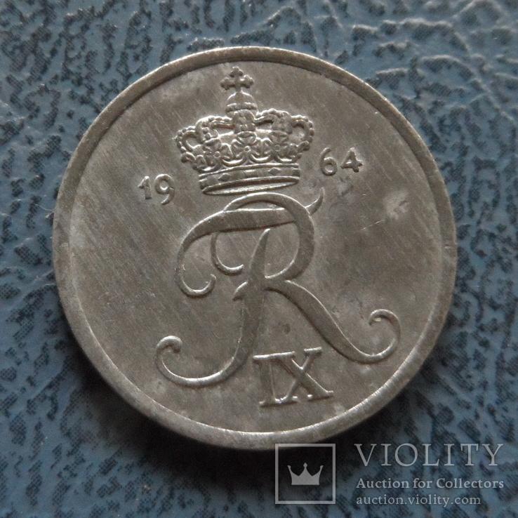 2 эре 1964   Дания    ($2.1.3) ~, фото №2