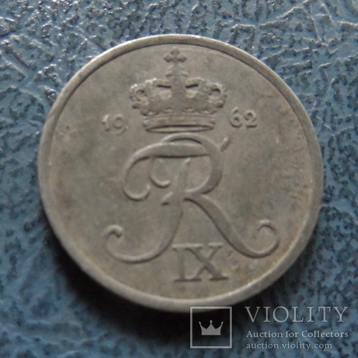 2 эре 1962   Дания    ($2.1.7) ~, фото №2