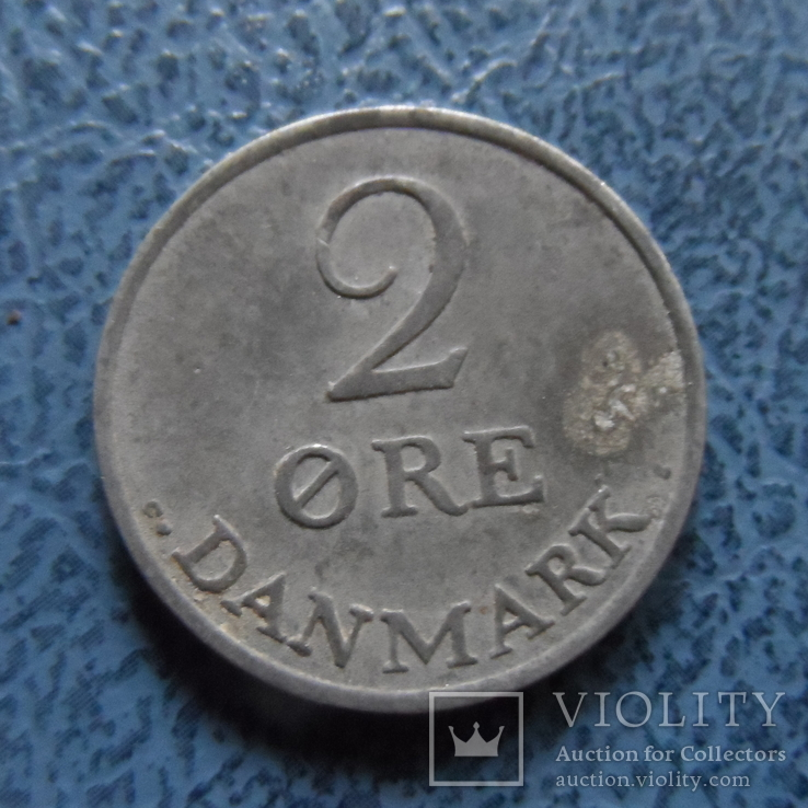 2 эре 1962   Дания    ($2.1.7) ~, фото №3