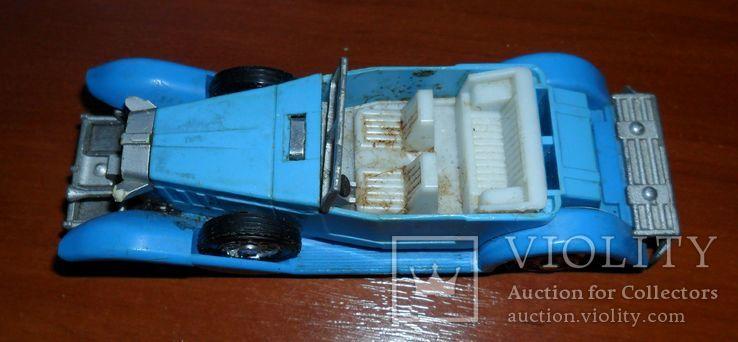 Кабриолет синий, фото №2