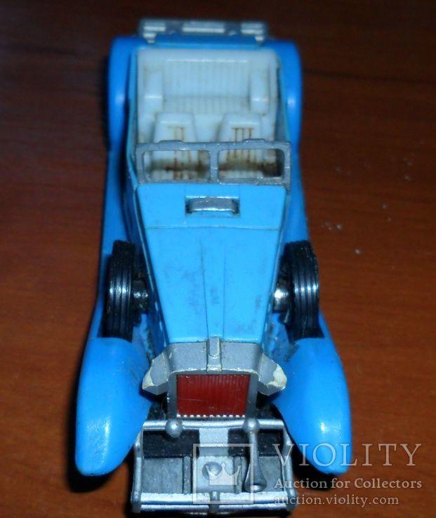 Кабриолет синий, фото №3