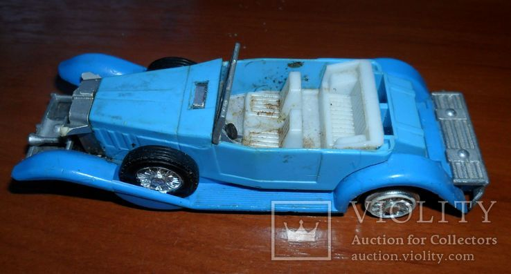 Кабриолет синий, фото №4