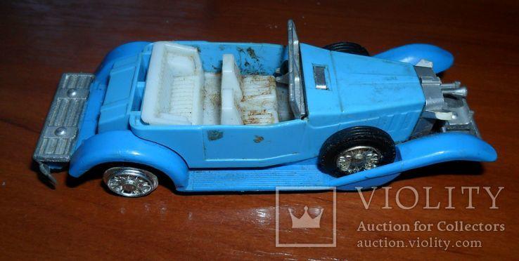 Кабриолет синий, фото №5