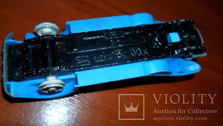 Кабриолет синий, фото №6
