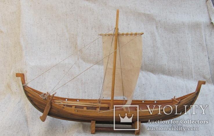 Модель древнерусской ладьи., фото №7