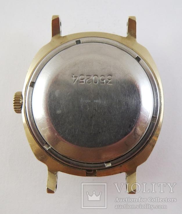 Часы Слава автоподзавод. Позолота AU5, фото №8