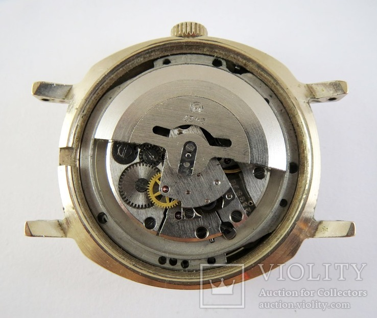 Часы Слава автоподзавод. Позолота AU5, фото №11