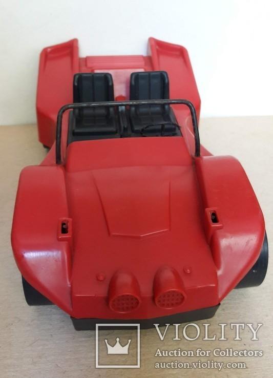 Машина гоночная из СССР на батарейках, фото №11