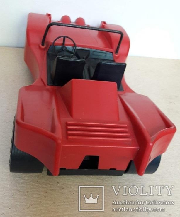 Машина гоночная из СССР на батарейках, фото №13