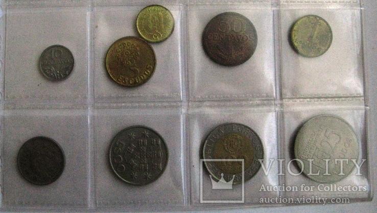 Португалия, набор 10 сентаво - 25 эскудо 1974 - 1989 гг., фото №4