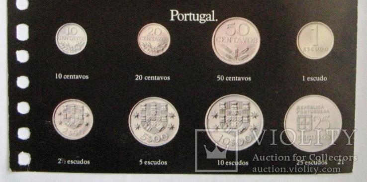 Португалия, набор 10 сентаво - 25 эскудо 1974 - 1989 гг., фото №6