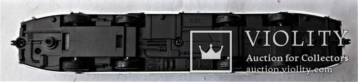 Трамвай Татра 1:87 НО для макета Ж/Д, инерционный, фото №5