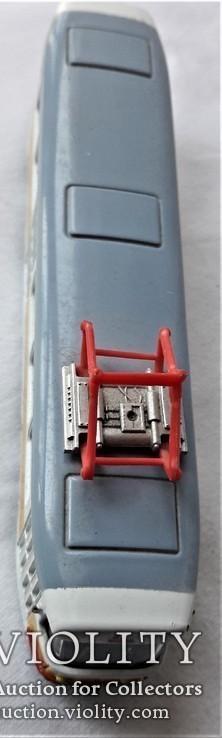 Трамвай Татра 1:87 НО для макета Ж/Д, инерционный, фото №8