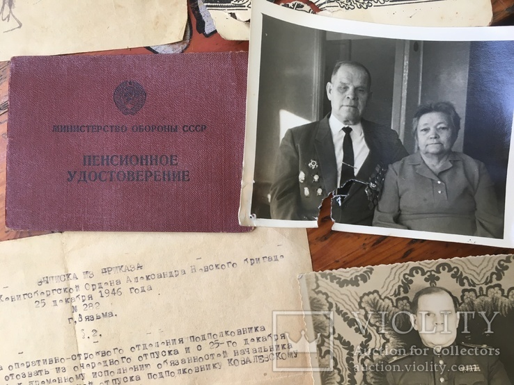 Небольшой архив на подп.ж-д войск с ударником Сталинского по., фото №11