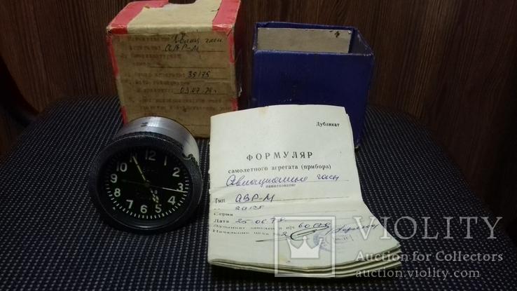 Часы авиационные новые коробка паспорт