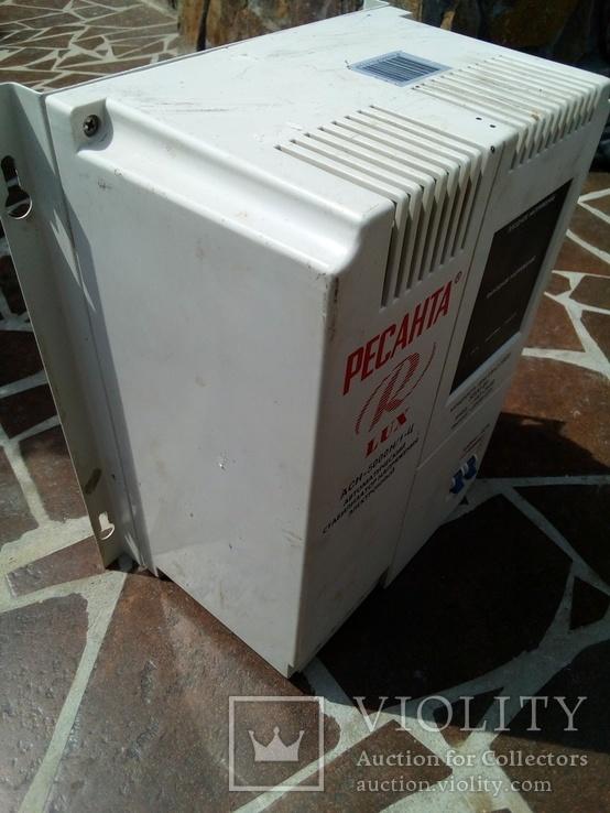 Стабилизатор напряжения АСН-5000.    5 кВт., фото №3