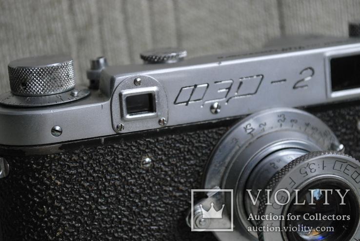 ФЭД-2 квадратное окно дальномера, № 000847, комплект., фото №5