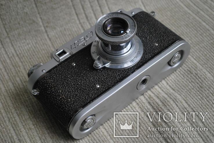 ФЭД-2 квадратное окно дальномера, № 000847, комплект., фото №8