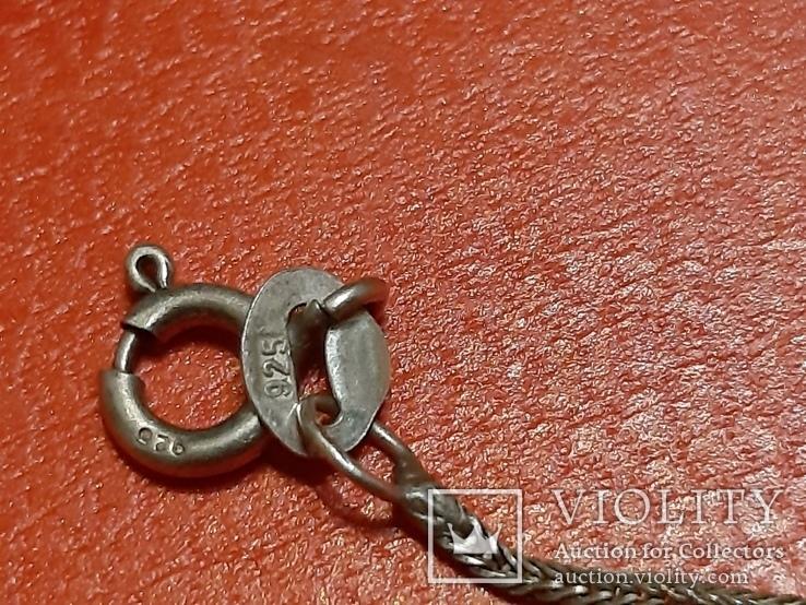 Серебряная цепочка порваная 925 проба, фото №5