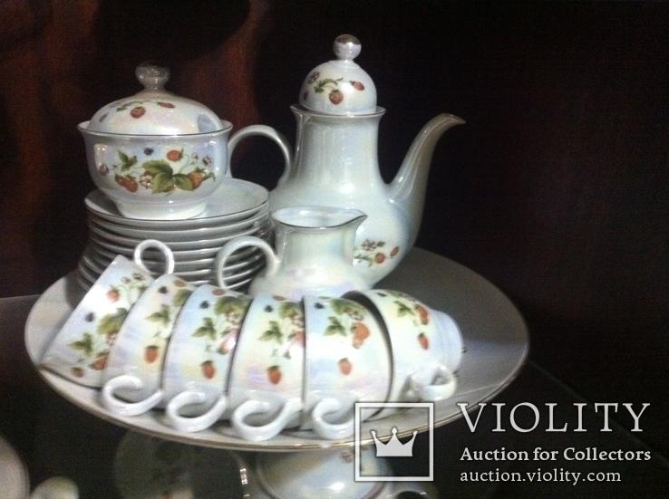 Немецкий фарфор - Столовый,Чайный,Кофейный сервизы на 6 персон, фото №8