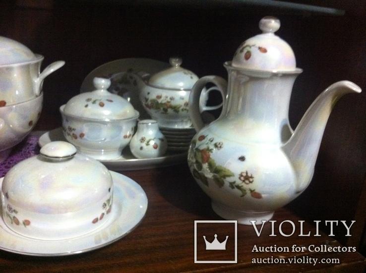 Немецкий фарфор - Столовый,Чайный,Кофейный сервизы на 6 персон, фото №10