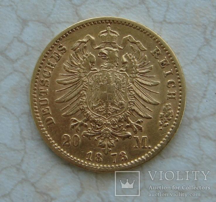 20 марок Пруссия 1873, photo number 3