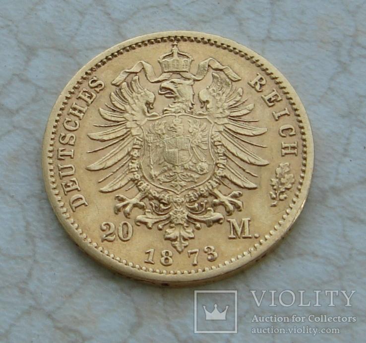 20 марок Пруссия 1873, photo number 4
