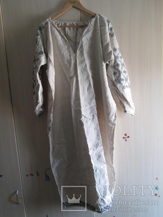 Сорочка, вышиванка до 1960 года №3