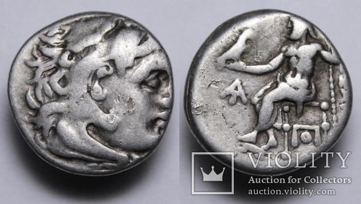 Срібна драхма Олександра ІІІ «Великого», м.Магнесія-на-Меандрі