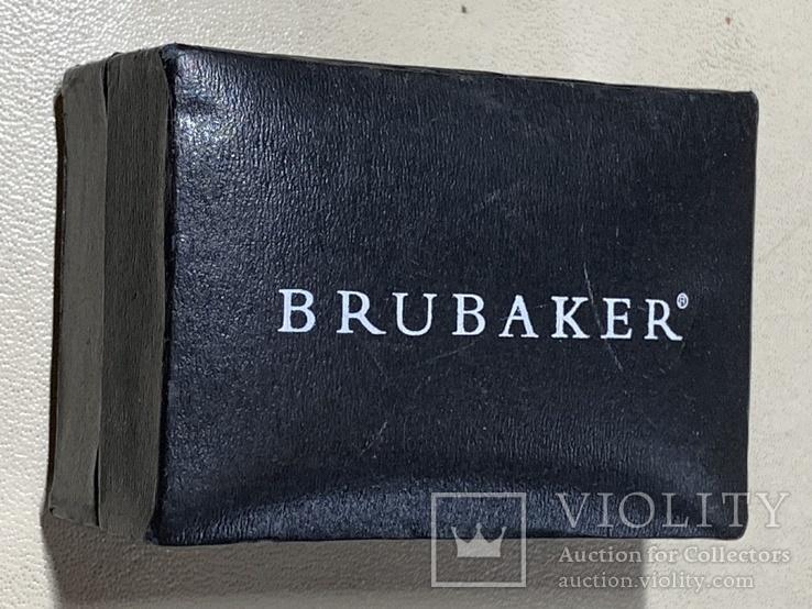 Запонки в родной коробке бренда Brubaker  из США