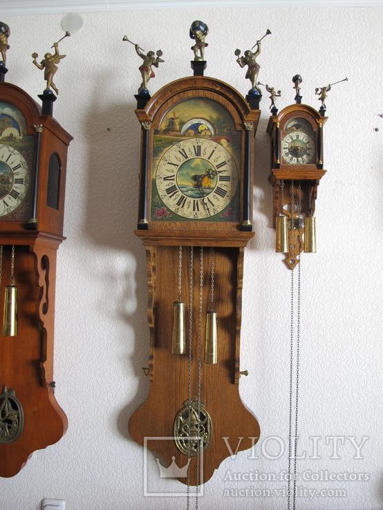 Большие настенные часы Голландия 1,5 метра, фото №2